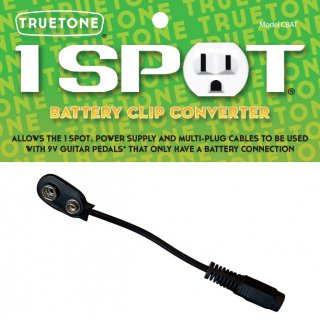 TRUETONE(トゥルートーン) バッテリークリップコンバータ 1SPOT CBAT BATTE