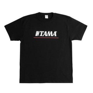 TAMA (タマ) 「TAMA」 ロゴTシャツ ブラック【サイズをお選びください】