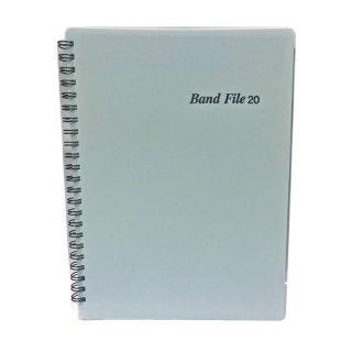 BandFile(バンドファイル) 20ポケット (楽譜40ページ分) ブルー