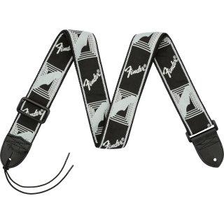 "Fender (フェンダー) ストラップ 2"" MONOGRAMMED STRAPS カラー:Black/Light Grey/Dark Grey"