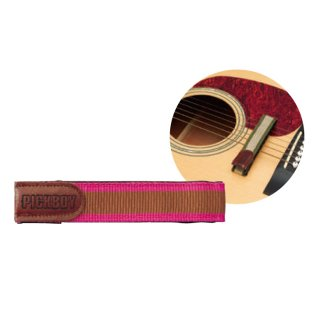 PICKBOY (ピックボーイ) EASY MUTE ミュート・弱音器 ギター用 ピンク MU-70G/PK<br>【追跡可能メール便 送料無料】