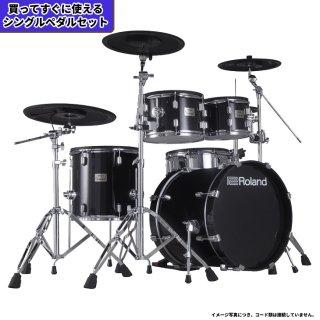 Roland (ローランド) 電子ドラム VADシリーズ (2タム1フロア構成 キット) VAD-506+【シングルペダルセット】