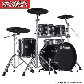 Roland (ローランド) 電子ドラム VADシリーズ (2タム1フロア構成 キット) VAD-506+【ツインペダルセット】