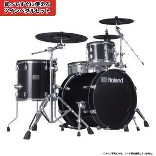 Roland (ローランド) 電子ドラム VADシリーズ (1タム1フロア構成 シンプルキット) VAD-503+【ツインペダルセット】