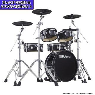Roland (ローランド) 電子ドラム VADシリーズ (省スペース キット) VAD-306+【シングルペダルセット】