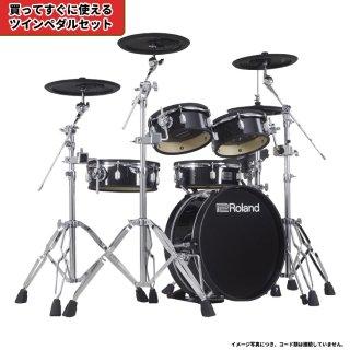 Roland (ローランド) 電子ドラム VADシリーズ (省スペース キット) VAD-306+【ツインペダルセット】