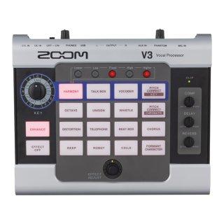 ZOOM (ズーム) オーディオ・インターフェース機能付き ボイスプロセッサー V3