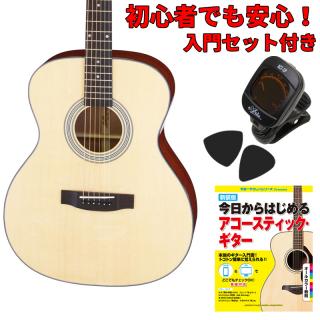 【入門セット付き】ARIA(アリア)アコースティックギター AF-201-N 【ソフトケース付属】