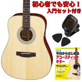 【入門セット付き】ARIA(アリア)アコースティックギター AD-211-N 【ソフトケース付属】