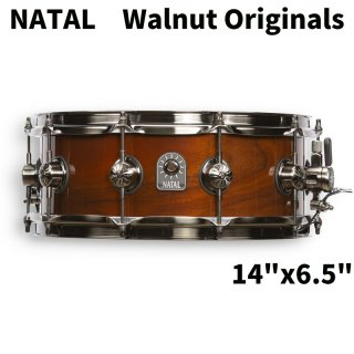 NATAL (ナタール) Walnut Originalsシリーズ スネアドラム 14