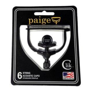 paige(ペイジー) カポタスト 6弦アコースティック用 PC-6<br>【追跡可能メール便 送料無料】