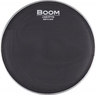 ASPR (アサプラ)  BOOM BMBK-22 バスドラム用 メッシュヘッド 22インチ カラー:ブラック