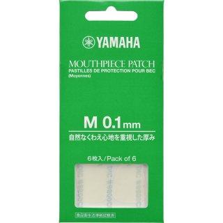 YAMAHA (ヤマハ)  マウスピースパッチ Mサイズ 0.1mm MPPA3M1<br>【追跡可能メール便 送料無料】