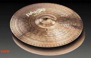 【数量限定特価品】PAISTE (パイステ) 900 シリーズ ヘヴィー ハイハットシンバル 14インチ ペア
