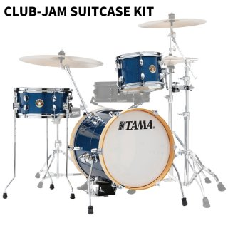 "TAMA (タマ) CLUB-JAM SUITCASE KIT 16""口径バスドラム LJK36S-ISP"