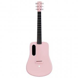 LAVA MUSIC ( ラヴァ・ミュージック ) LAVA ME 2 FreeBoost カーボンファイバーミニギター Pink