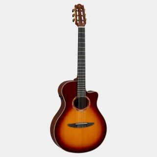 YAMAHA (ヤマハ) NXシリーズ エレガットギター NTX3BS(BS:ブラウンサンバースト)【セミハードケース付】