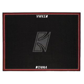 TAMA (タマ) ドラムセッティングカーペット ドラムマット スモールサイズ ブラック (TAMAロゴ付き) TDRS-TL