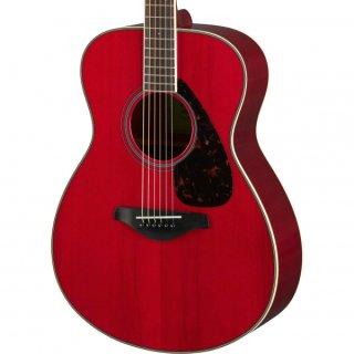 【アクセサリーパック プレゼント】YAMAHA (ヤマハ) FSシリーズ アコースティックギター FS820 (RR:ルビーレッド) ソフトケース付