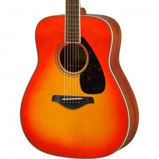 【アクセサリーパック プレゼント】YAMAHA (ヤマハ) FGシリーズ アコースティックギター FG820 (AB:オータムバースト) ソフトケース付 ■■