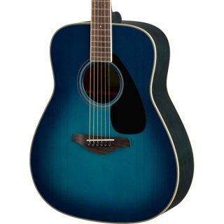 【アクセサリーパック プレゼント】YAMAHA (ヤマハ) FGシリーズ アコースティックギター FG820 (SB:サンセットブルー) ソフトケース付 ■■