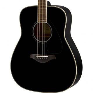【アクセサリーパック プレゼント】YAMAHA (ヤマハ) FGシリーズ アコースティックギター FG820 (BL:ブラック) ソフトケース付 ■■