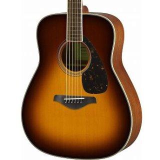 【アクセサリーパック プレゼント】YAMAHA (ヤマハ) FGシリーズ アコースティックギター FG820 (BS:ブラウンサンバースト) ソフトケース付 ■■