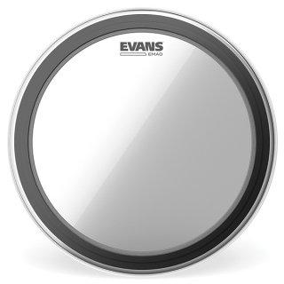 EVANS(エバンス) EMAD クリア 24インチ バスドラム打面用ヘッド BD24EMAD