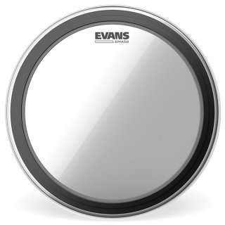 EVANS(エバンス) EMAD2 クリア 26インチ バスドラム打面用ヘッド BD26EMAD2