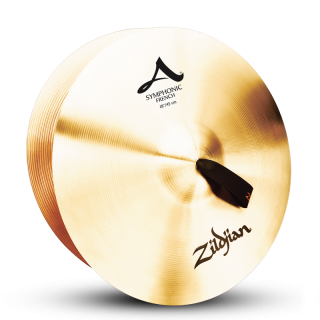 Zildjian (ジルジャン) A ZILDJIAN SYMPHONIC FRENCH TONE 18インチ(合わせシンバル)1枚のみ(手皮別売り)