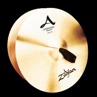 Zildjian (ジルジャン) A ZILDJIAN SYMPHONIC FRENCH TONE 20インチ(合わせシンバル)1枚のみ(手皮別売り)