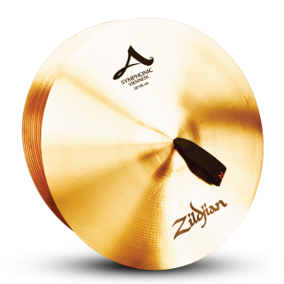Zildjian (ジルジャン) A ZILDJIAN SYMPHONIC VIENNESE TONE 18インチ(合わせシンバル)1枚のみ(手皮別売り)