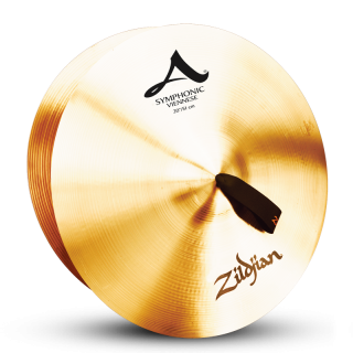 Zildjian (ジルジャン) A ZILDJIAN SYMPHONIC VIENNESE TONE 20インチ(合わせシンバル)1枚のみ(手皮別売り)
