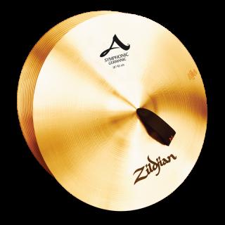 Zildjian (ジルジャン) A ZILDJIAN SYMPHONIC GERMAN TONE 18インチ(合わせシンバル)1枚のみ(手皮別売り)