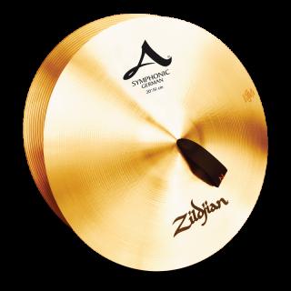 Zildjian (ジルジャン) A ZILDJIAN SYMPHONIC GERMAN TONE 20インチ(合わせシンバル)1枚のみ(手皮別売り)