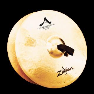 Zildjian (ジルジャン) A ZILDJIAN CLASSIC ORCHESTRAL SELECTION MEDIUM LIGHT 20インチ(合わせシンバル)1枚のみ(手皮別売り)