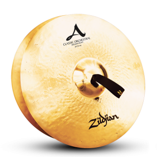 Zildjian (ジルジャン) A ZILDJIAN CLASSIC ORCHESTRAL SELECTION MEDIUM HEAVY 20インチ(合わせシンバル)1枚のみ(手皮別売り)