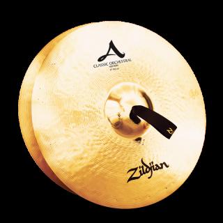 Zildjian (ジルジャン) A ZILDJIAN CLASSIC ORCHESTRAL SELECTION MEDIUM 17インチ(合わせシンバル)1枚のみ(手皮別売り)