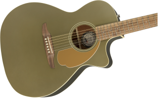 Fender (フェンダー) エレアコ Newporter Player カラー:Olive Satin WN 【ソフトケース付属】