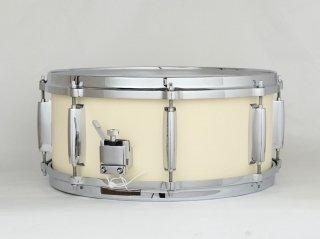 """【5月末入荷分予約】2021 Limited Model Shirai Keet Snare Drums """"Steam Milk"""" N-SD14607E5 シライキート スネアドラム スチームミルク"""