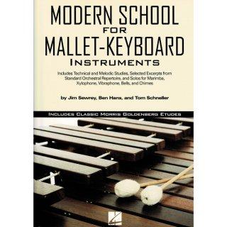 【教則本】モダンスクール フォー マレット キーボード インストゥルメント/ Modern School for Mallet Keyboard Instruments