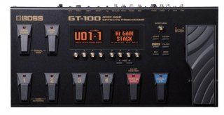 BOSS (ボス) マルチエフェクター GT-100 Ver.2.0 COSM Amp Effects Processor