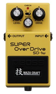 BOSS (ボス) SUPER OverDriver WAZA CRAFT SD-1W ボス スーパーオーバードライブ 技【送料無料】