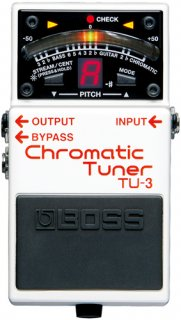 BOSS (ボス) クロマチックチューナー Chromatic Tuner TU-3 【送料無料】