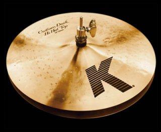 "Zildjian (ジルジャン) Kカスタム ダークハイハット 13インチ ボトムのみ K Custom Dark Hi Hat 13"" Bottom"