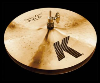"Zildjian (ジルジャン) Kカスタム ダークハイハット 14インチ トップのみ K Custom Dark Hi Hat 14"" Top"