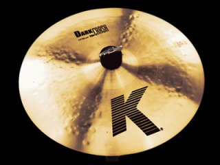 "Zildjian (ジルジャン) Kジルジャン ダーククラッシュシン 16インチ K Dark Crash Thin 16"""