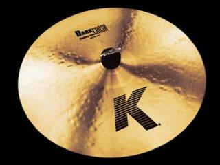 "Zildjian (ジルジャン) Kジルジャン ダーククラッシュミディアムシン 16インチ K Dark Crash Medium Thin 16"""