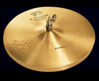 "Zildjian (ジルジャン) Kコンスタンチノープル  ハイハット 14インチ トップのみ K Constantinople Hi Hat 14"" Top"