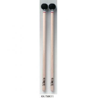 K.M.K (ケーエムケー) ティンパニ・マレット 微テーパーモデル12mm<br>ベリーハード KK-TMK11 (1ペア)